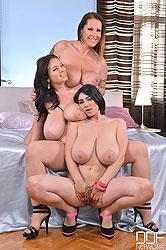 Joanna, Laura and Luna